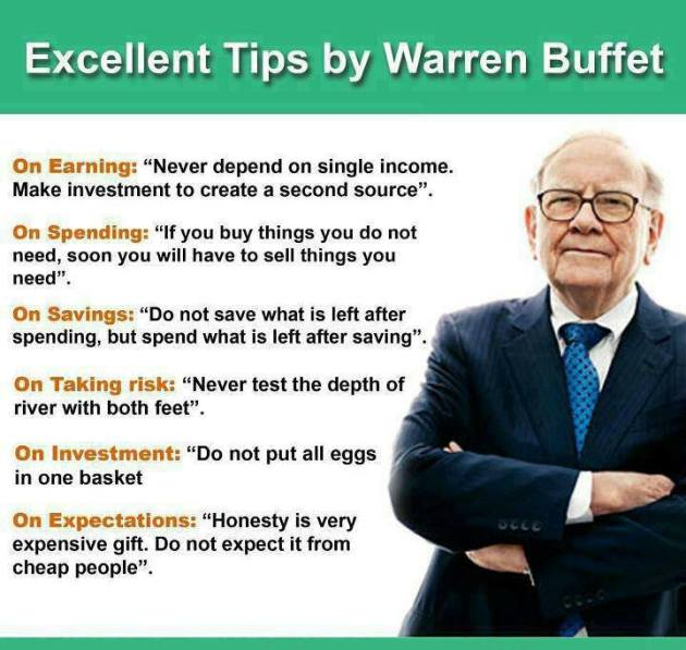 WarrenBuffetFinancialTips