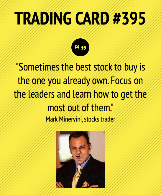 Trading card 395 buy more of what you have LEADERS